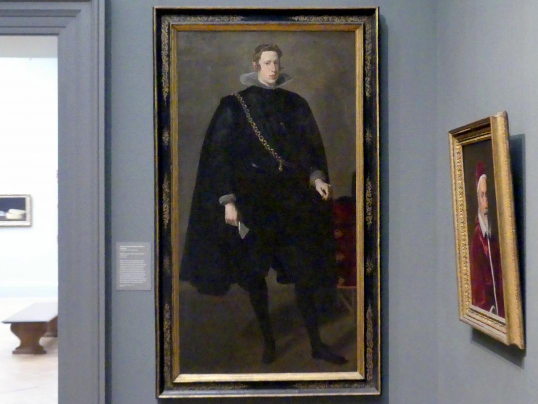 Diego Rodríguez de Silva y Velázquez: Philipp IV. (1605-1665), König von Spanien, 1624