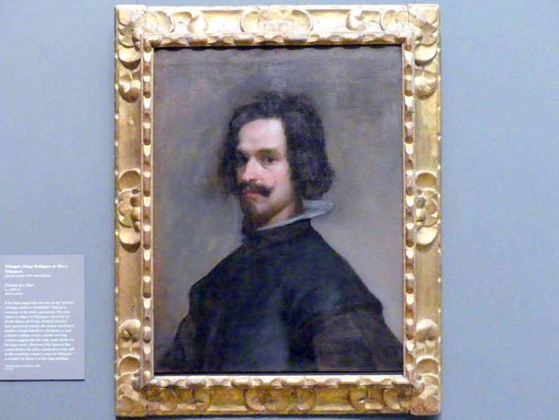Diego Rodríguez de Silva y Velázquez: Bildnis eines Mannes, um 1630 - 1635