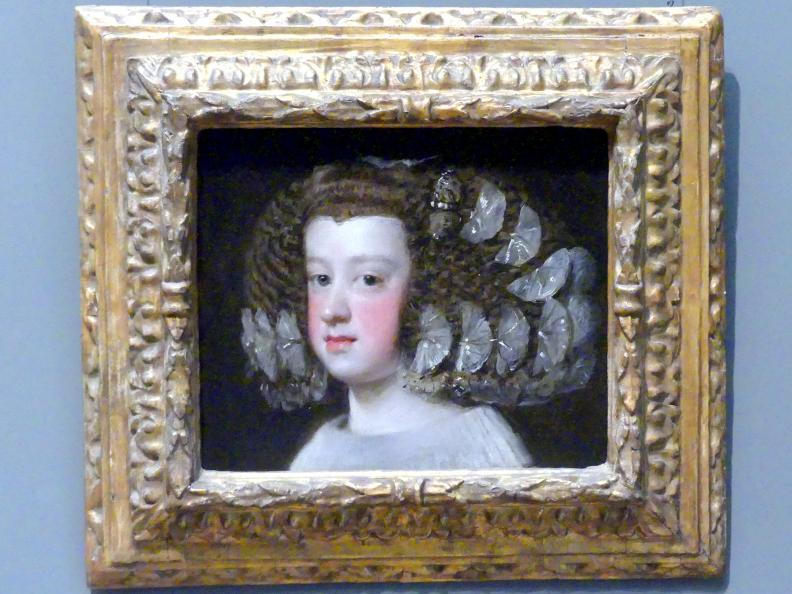 Diego Rodríguez de Silva y Velázquez: Maria Teresa (1638–1683), Infantin von Spanien, 1651 - 1654