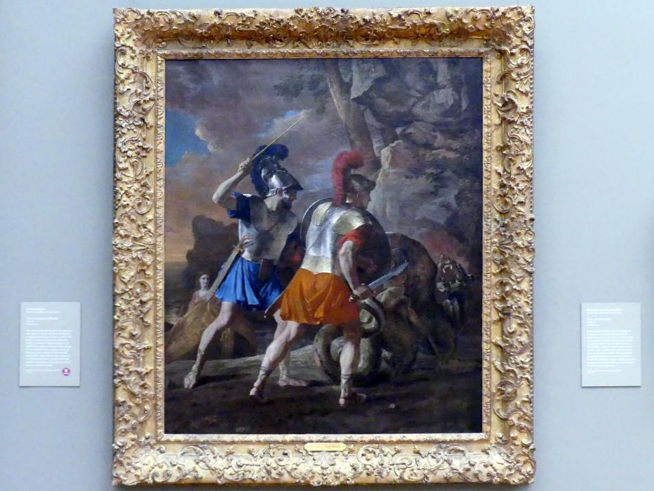 Nicolas Poussin: Die Gefährten des Rinaldo, um 1633