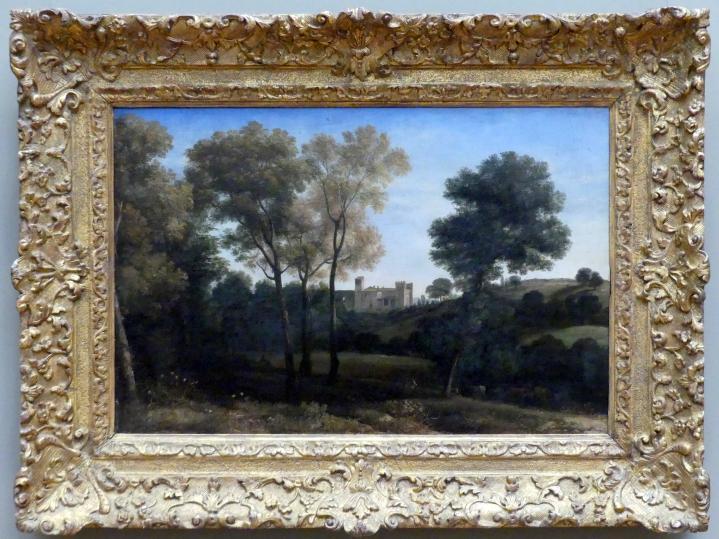 Claude Lorrain (Claude Gellée): Blick auf La Crescenza, 1648 - 1650