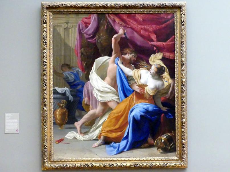 Eustache Le Sueur: Amnon und Tamar, um 1640