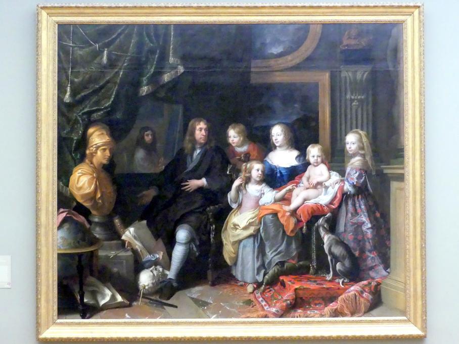 Charles Le Brun: Eberhard Jabach und seine Familie, um 1660