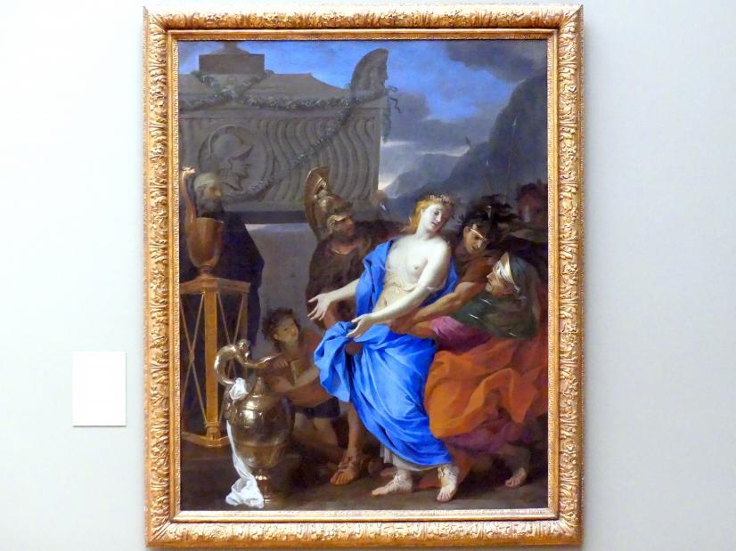 Charles Le Brun: Die Opferung der Polyxena, 1647