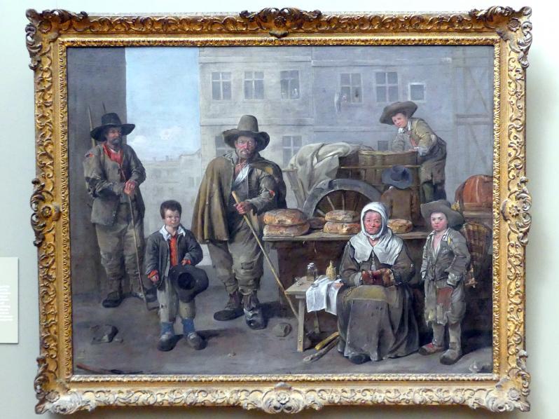 Jean Michelin: Der Bäckerwagen, 1656