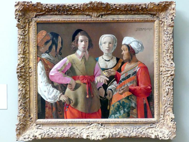 Georges de la Tour: Die Wahrsagerin, um 1630 - 1640