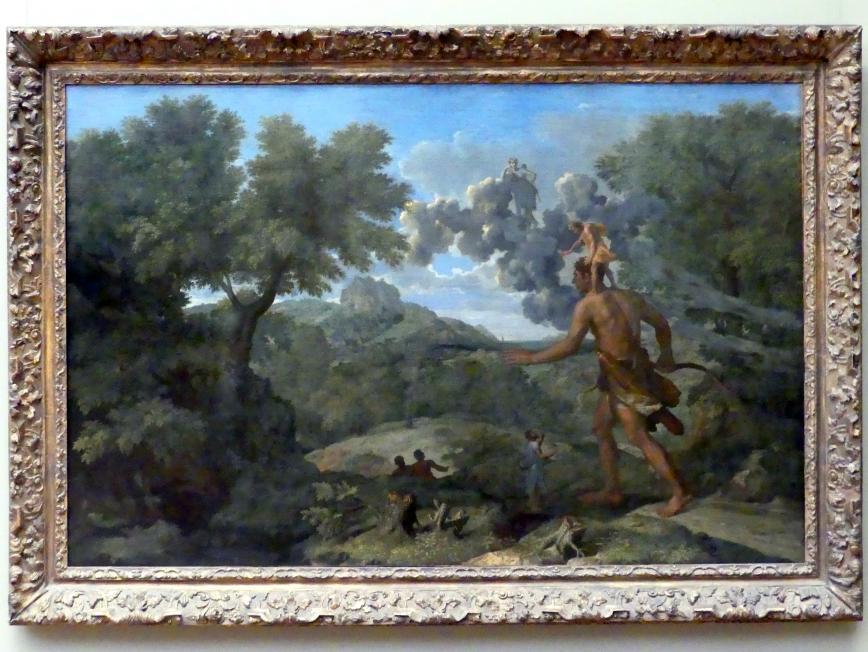 Nicolas Poussin: Der blinde Orion auf der Suche nach der aufgehenden Sonne, 1658