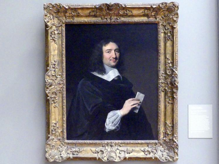 Philippe de Champaigne: Jean-Baptiste Colbert (1619-1683), 1655