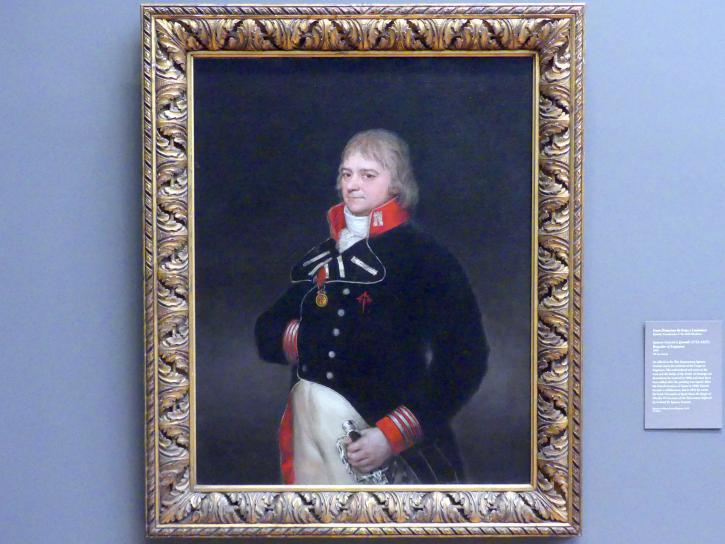 Francisco de Goya (Francisco José de Goya y Lucientes): Ignacio Garcini y Queralt (1752-1825), Brigadier der Ingenieure, 1804