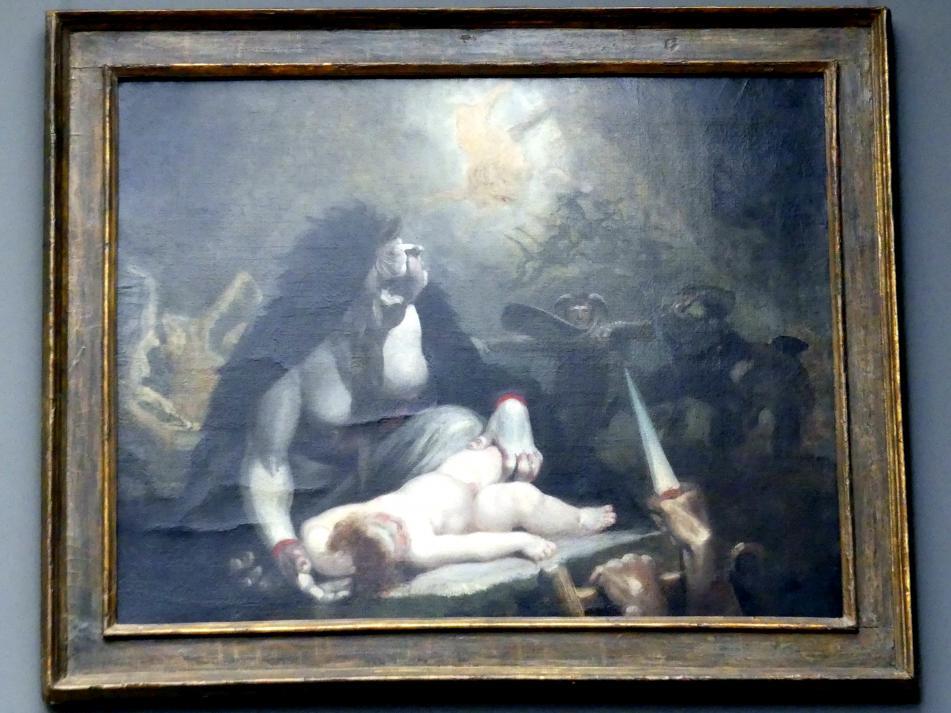 Johann Heinrich Füssli: Die Night-Hag besuchen Lappland Hexen, 1796