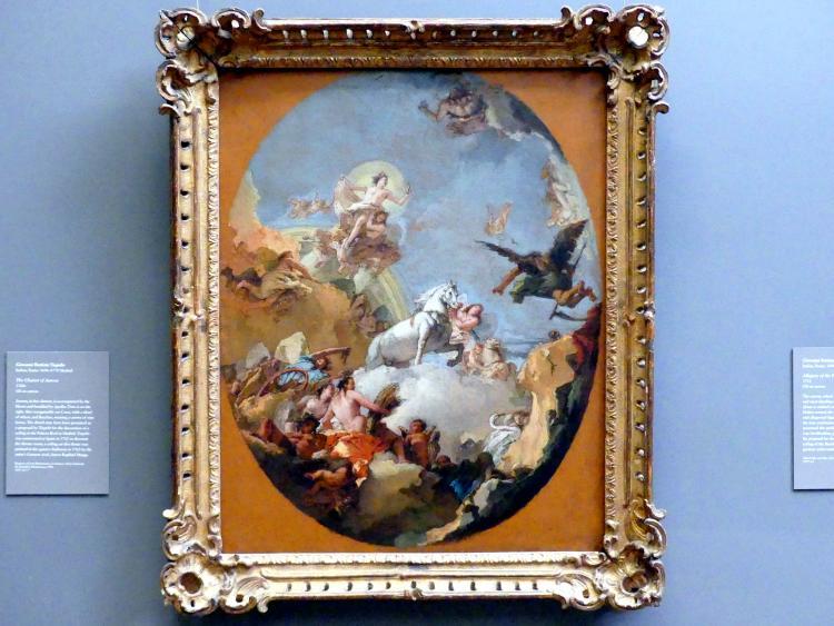 Giovanni Battista Tiepolo: Der Streitwagen der Aurora, um 1760 - 1770