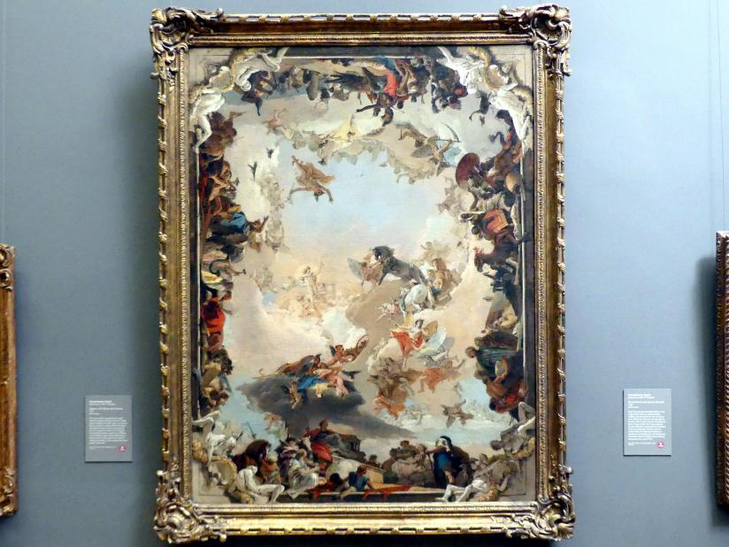 Giovanni Battista Tiepolo: Allegorie der Planeten und Kontinente, 1752