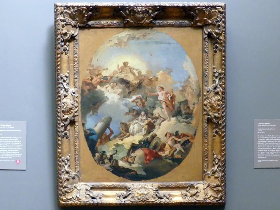 Giovanni Battista Tiepolo: Verherrlichung der spanischen Monarchie, um 1760 - 1770