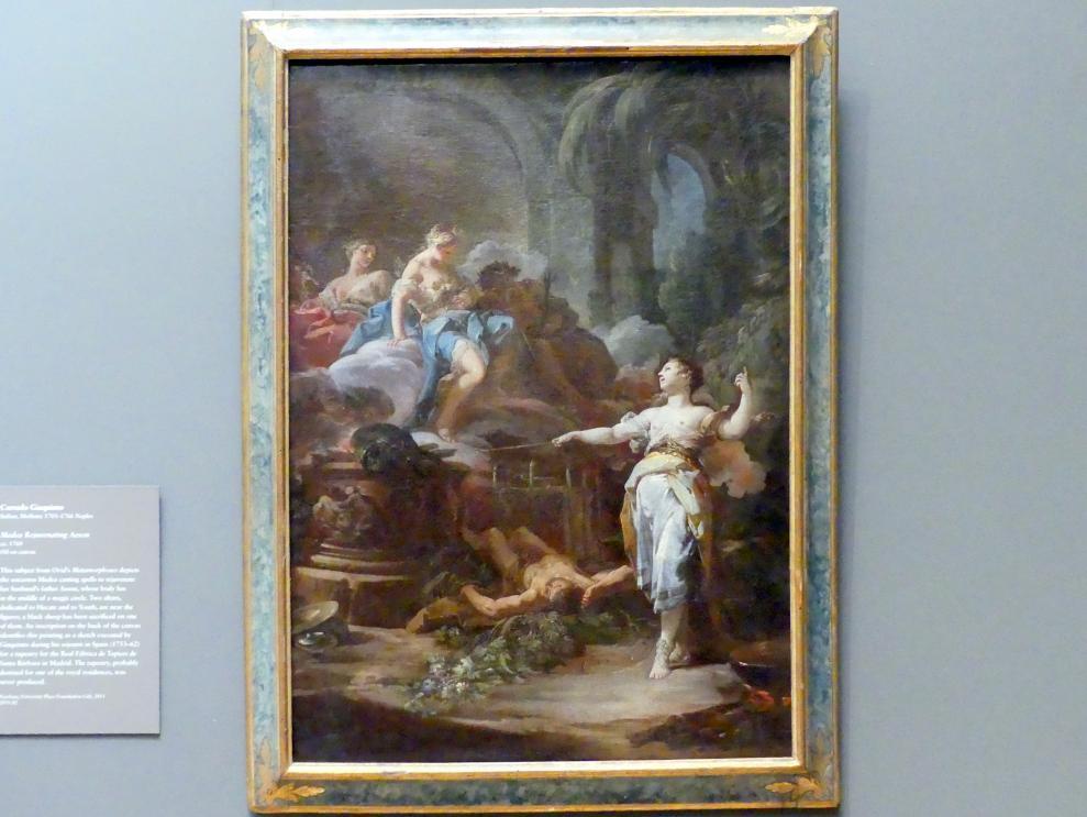 Corrado Giaquinto: Medea verjüngt Aison, um 1760