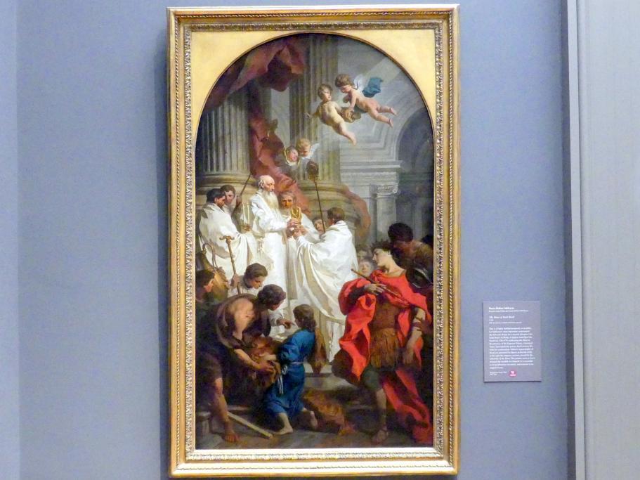 Pierre Subleyras: Messe des heiligen Basilius des Großen, 1746