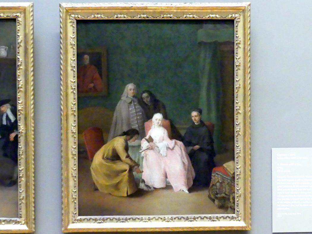 Pietro Longhi: Der Besuch, 1746