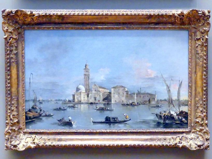 Francesco Guardi: Insel San Michele in Venedig, um 1770 - 1780