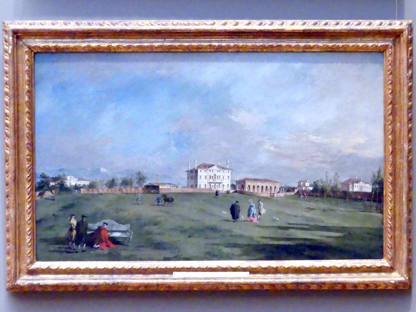 Francesco Guardi: Villa Loredan in Paese, um 1780 - 1785