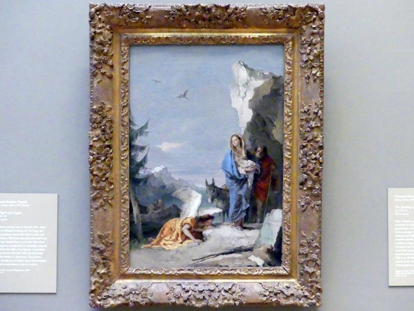 Giovanni Battista Tiepolo: Flucht nach Ägypten, um 1767 - 1770