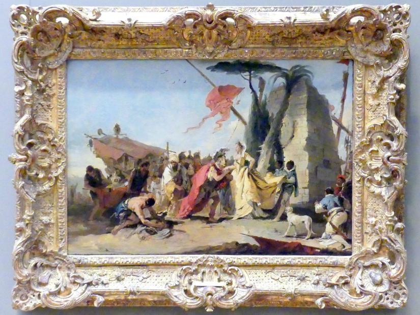 Giovanni Battista Tiepolo: Antonius und Kleopatra, um 1745 - 1747