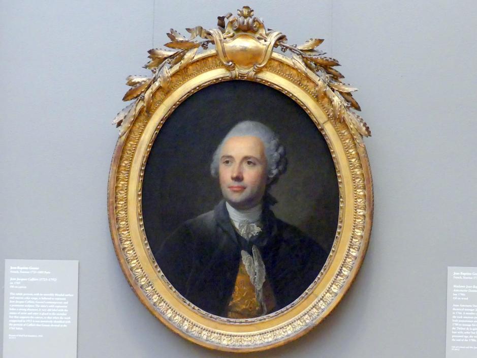 Jean-Baptiste Greuze: Jean-Jacques Caffieri (1725-1792), um 1765