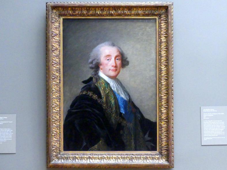 Élisabeth Vigée-Lebrun: Alexandre Charles Emmanuel de Crussol-Florensac (1743–1815), 1787