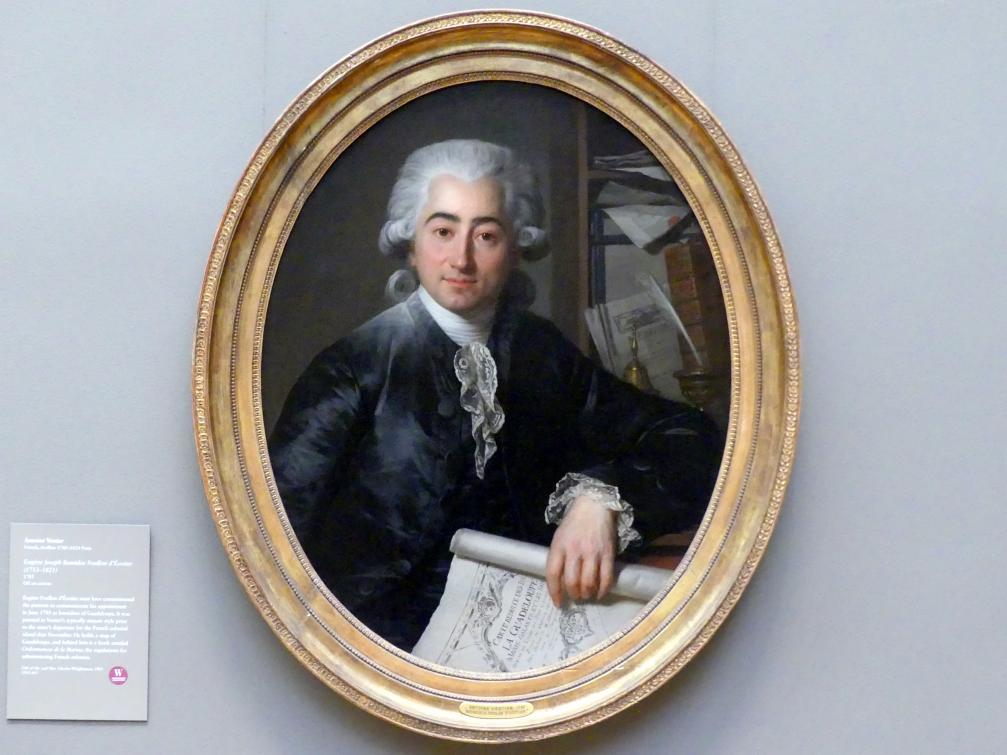 Antoine Vestier: Eugène Joseph Stanislas Foullon d'Écotier (1753–1821), 1785
