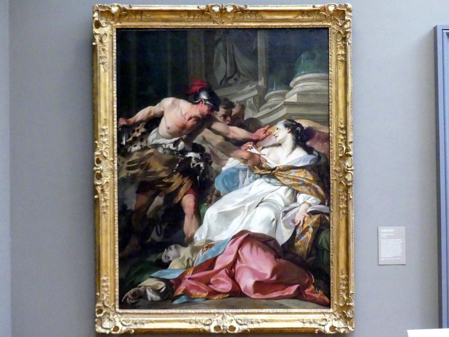 Jean-Baptiste-Marie Pierre: Tod der Harmonia, um 1740 - 1741