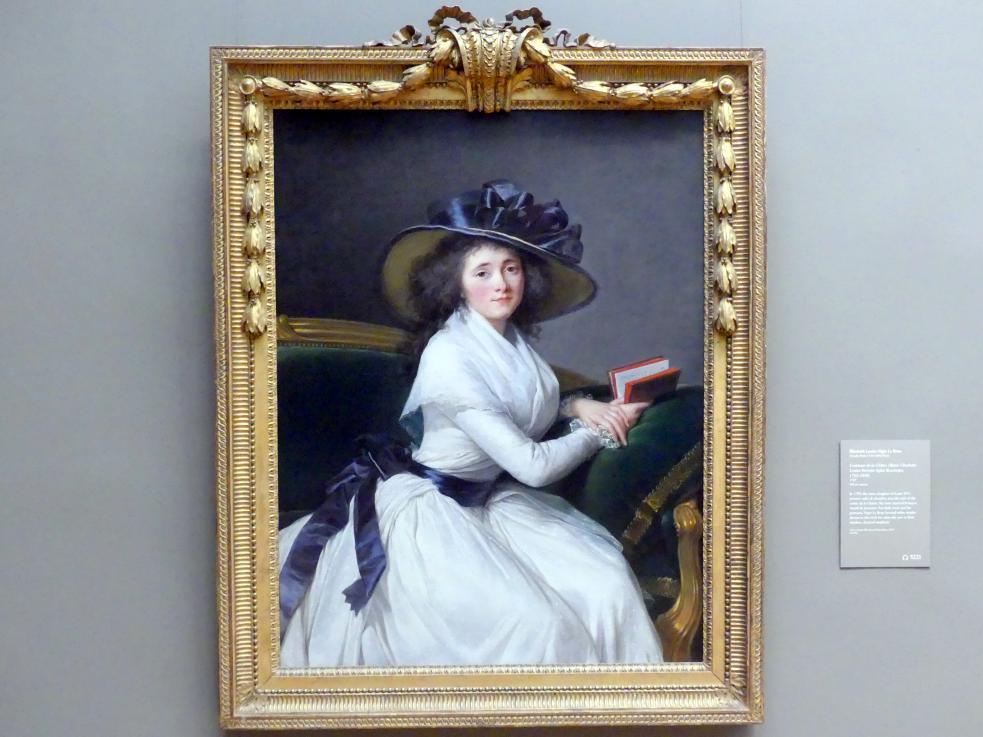 Élisabeth Vigée-Lebrun: Comtesse de la Châtre (Marie Charlotte Louise Perrette Aglaé Bontemps, 1762–1848), 1789