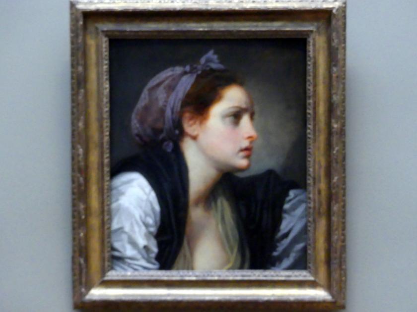Jean-Baptiste Greuze: Weiblicher Studienkopf, um 1780