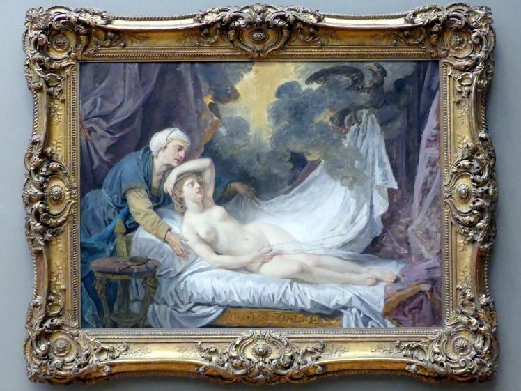Jean-Baptiste Greuze: Ägina besucht von Jupiter, um 1767 - 1769