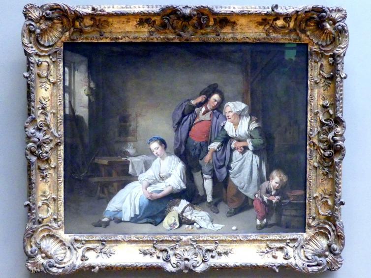 Jean-Baptiste Greuze: Zerbrochene Eier, 1756