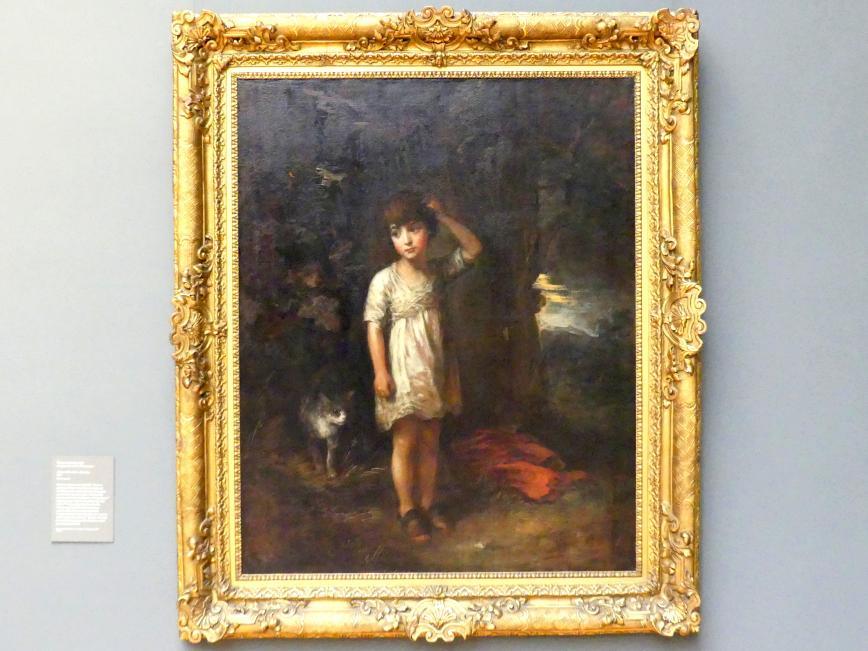 Thomas Gainsborough: Junge mit Katze - Der Morgen, 1787