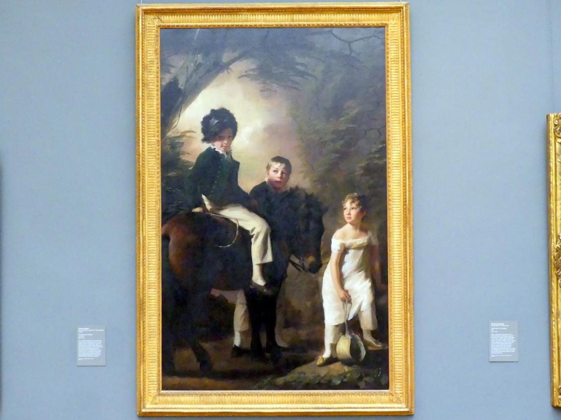 Henry Raeburn: Die Drummond Kinder, um 1808 - 1809