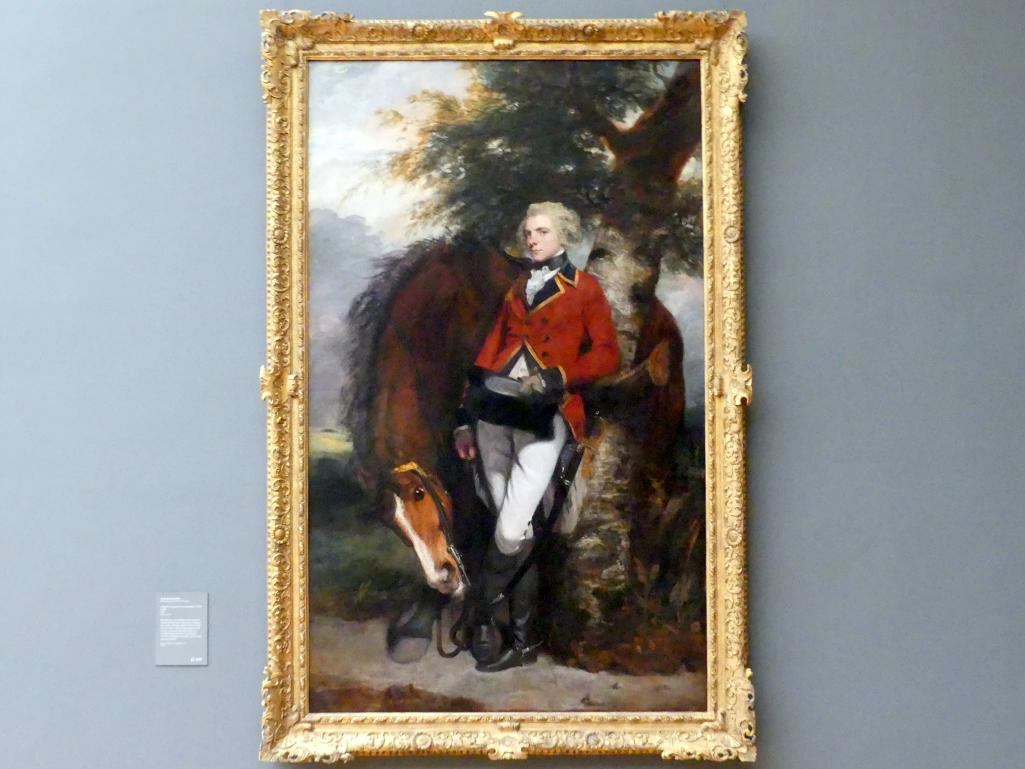 Joshua Reynolds: Porträt des Colonel George K. H. Coussmaker vom Regiment der Garde-Grenadiere (1759-1801), 1782