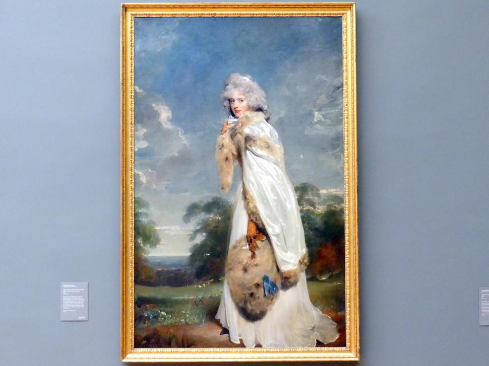 Thomas Lawrence: Elizabeth Farren (1759-1829), spätere Countess of Derby, 1790