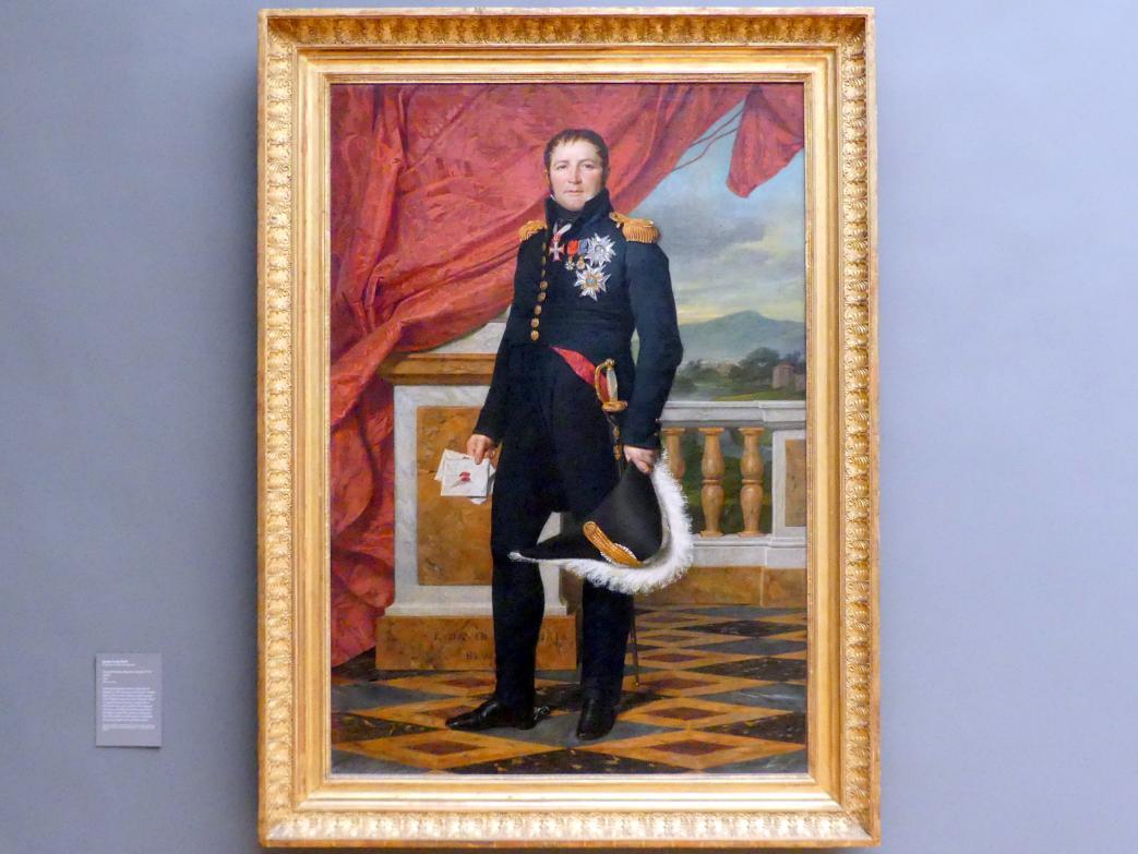 Jacques-Louis David: General Étienne-Maurice Gérard (1773-1852), 1816