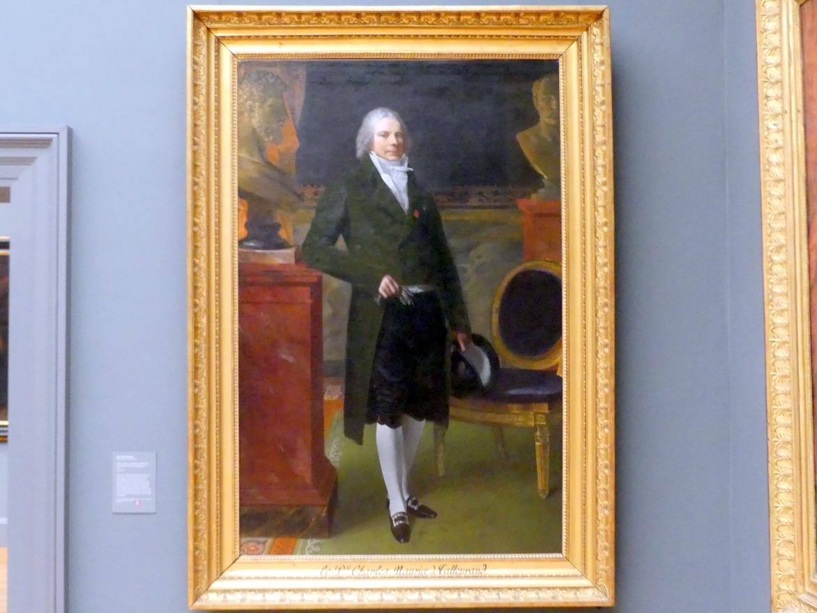 Pierre Paul Prud'hon: Charles Maurice de Talleyrand Périgord (1754-1838), Herzog von Talleyrand-Périgord, 1817
