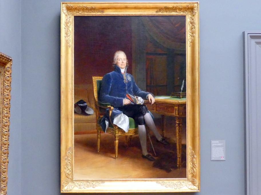 François Gérard: Charles Maurice de Talleyrand Périgord (1754-1838), Fürst von Benevent, 1808
