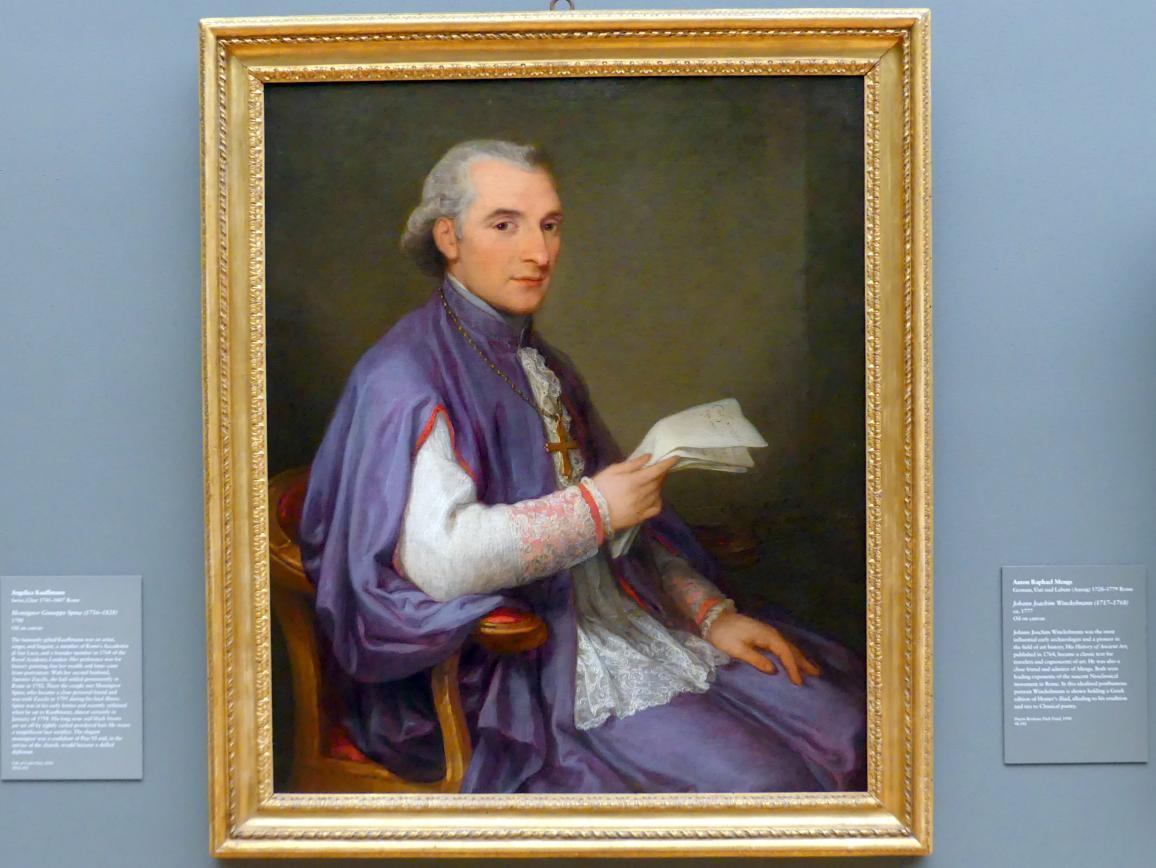 Angelika Kauffmann: Monsignor Giuseppe Spina (1756-1828), 1798