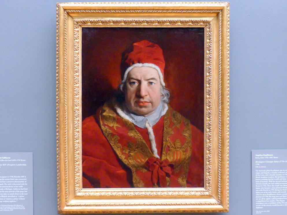 Pierre Subleyras: Papst Benedikt XIV. (Prospero Lambertini, 1675-1758), 1746