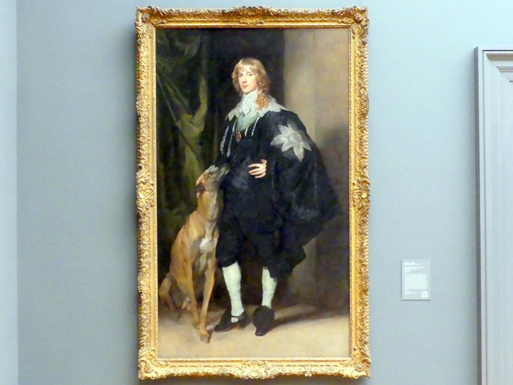 Anthonis (Anton) van Dyck: James Stuart (1612–1655), Herzog von Richmond und Lennox, um 1633 - 1635