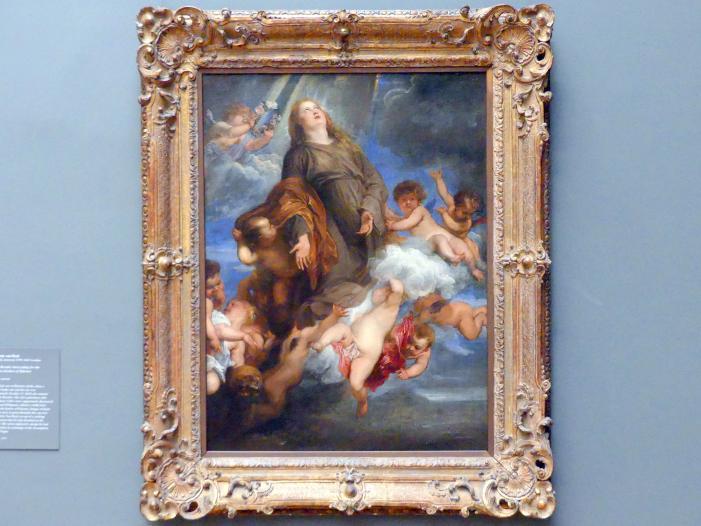 Anthonis (Anton) van Dyck: Die heilige Rosalie legt Fürbitte ein für das von der Pest heimgesuchte Palermo, 1624