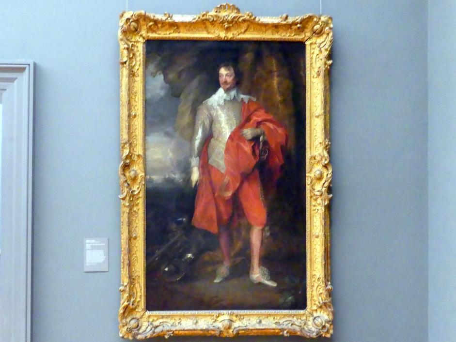 Anthonis (Anton) van Dyck: Robert Rich (1587-1658), Zweiter Earl of Warwick, um 1632 - 1635