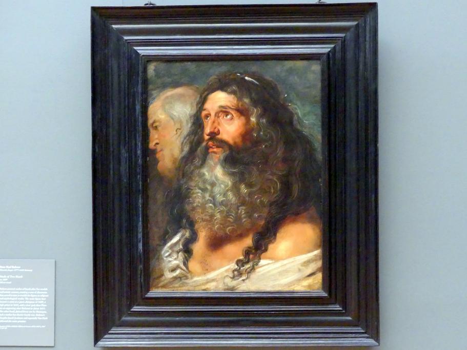 Peter Paul Rubens: Studie zweier Köpfe, um 1609
