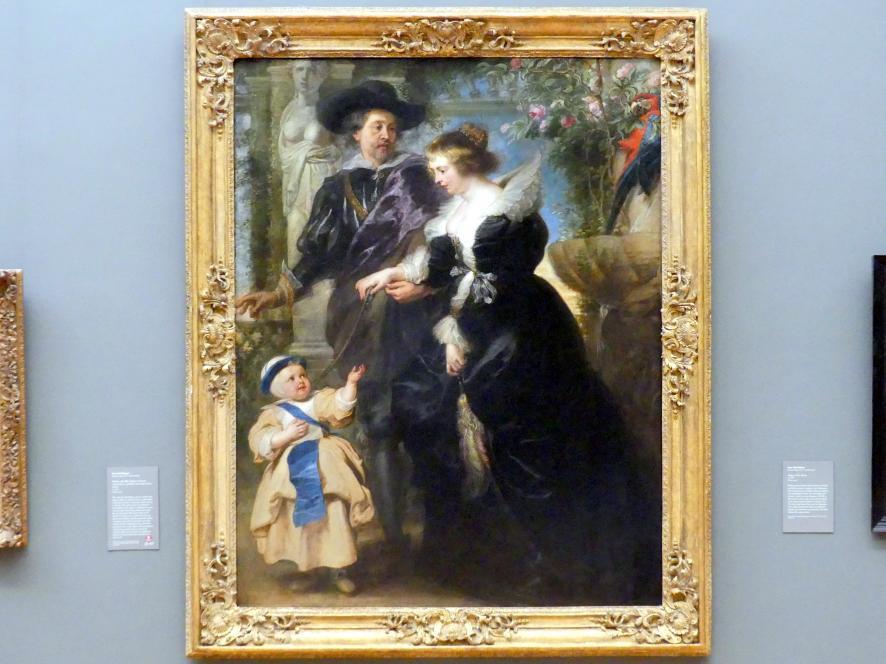 Peter Paul Rubens: Rubens, seine Frau Hélène Fourment (1614-1673) und eines ihrer Kinder, um 1635