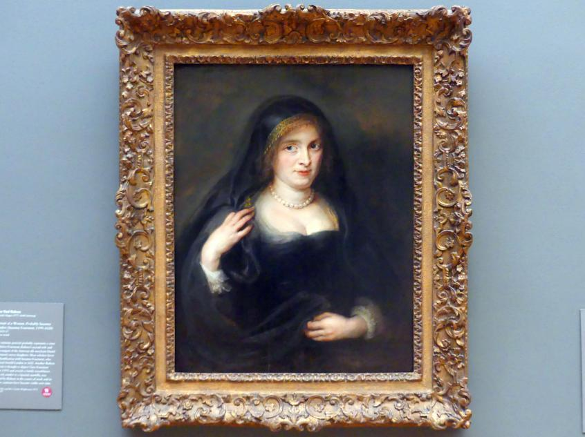 Peter Paul Rubens: Porträt einer Frau, wahrscheinlich Susanna Lunden (Susanna Fourment, 1599-1628), um 1625 - 1627