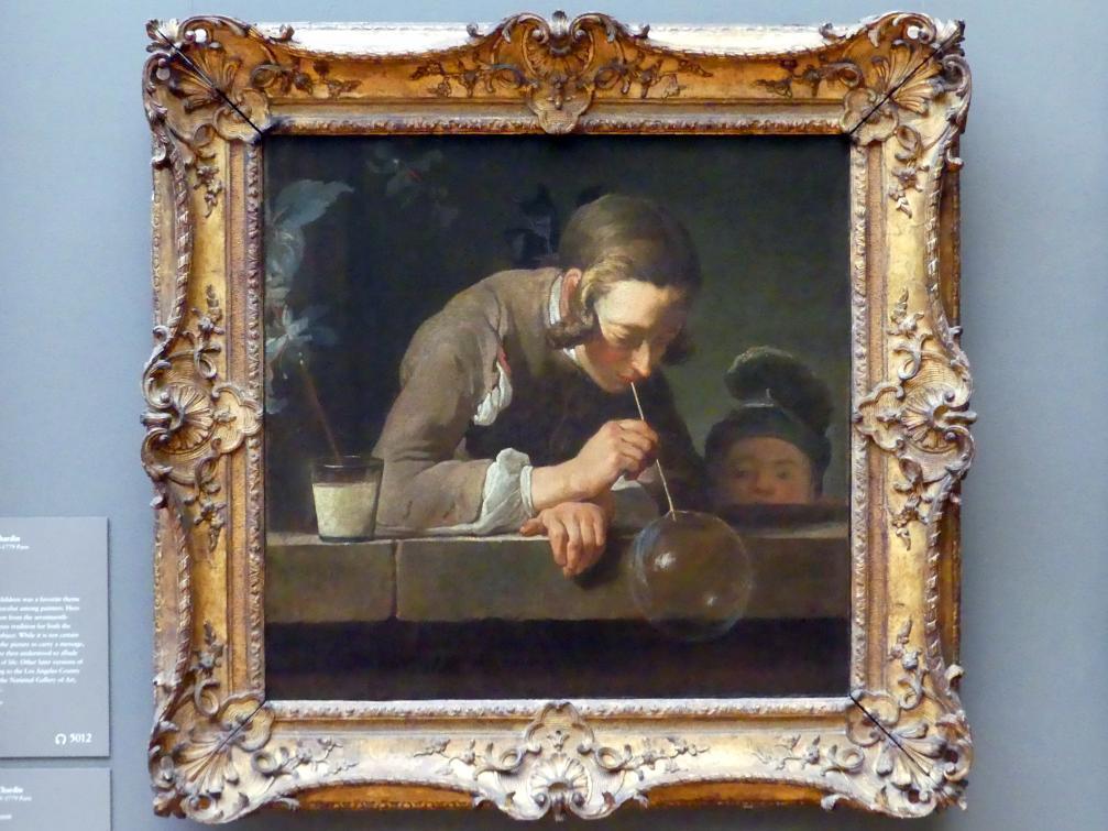 Jean Siméon Chardin: Seifenblasen, um 1733 - 1734