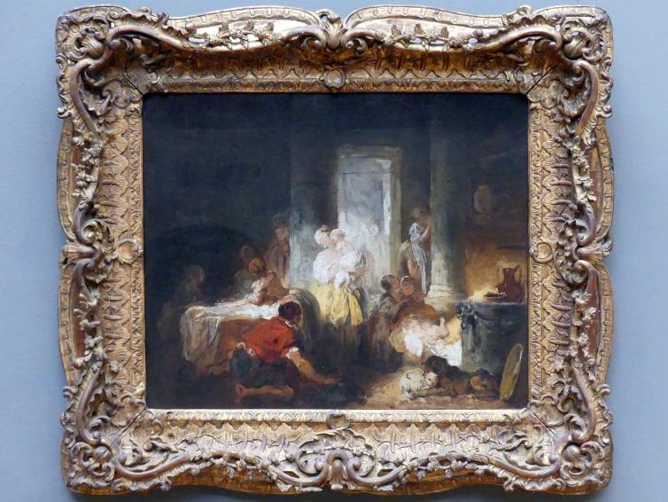 Jean-Honoré Fragonard: Römisches Interieur, um 1760