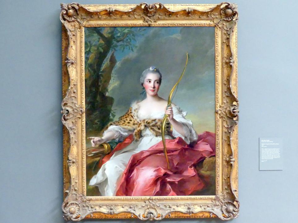 Jean-Marc Nattier: Madame Bergeret de Frouville als Diana, 1756